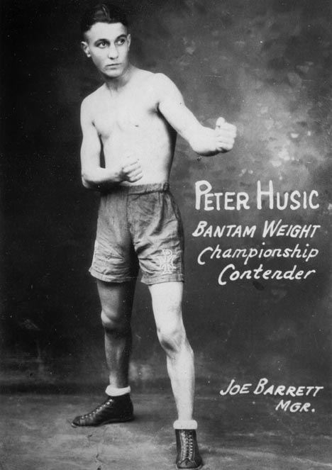 """Pete"" Husic Bantam Weight Championship Contender, 1920s"