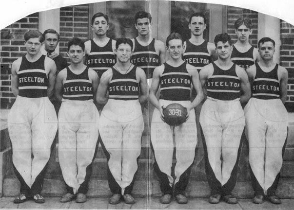 S.H.S. Basketball Champs (Rotogravure Photo), 1931