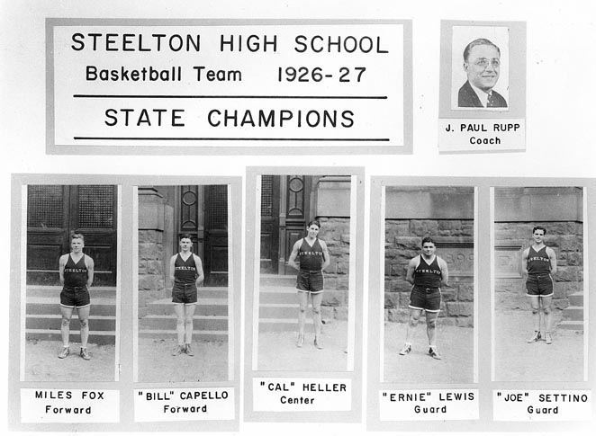 S.H.S. Basketball STATE CHAMPS, 1926