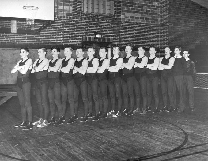 S.H.S. First Wrestling Team, 1936