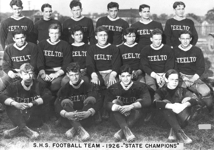 S.H.S. Football State Champs, 1926