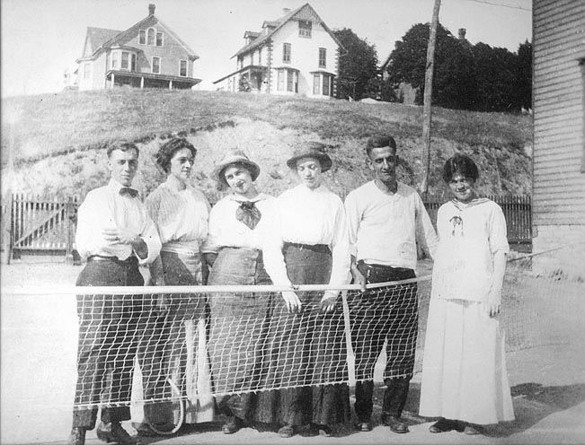 Some Members of St. James Tennis Club, 1912