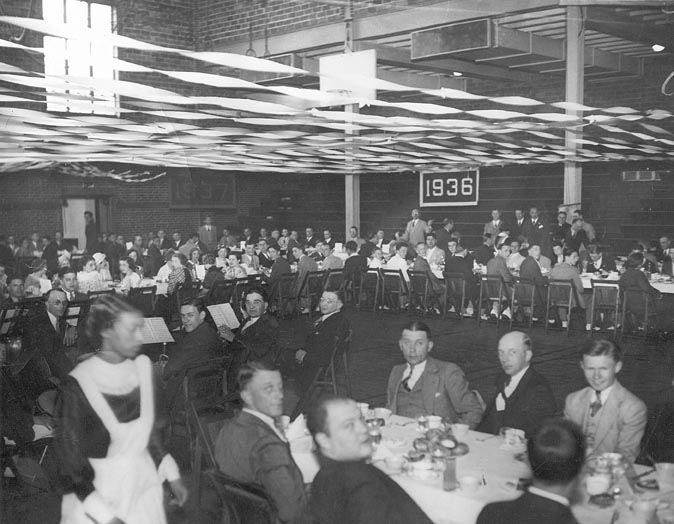 Sports Banquet Full View, 1934