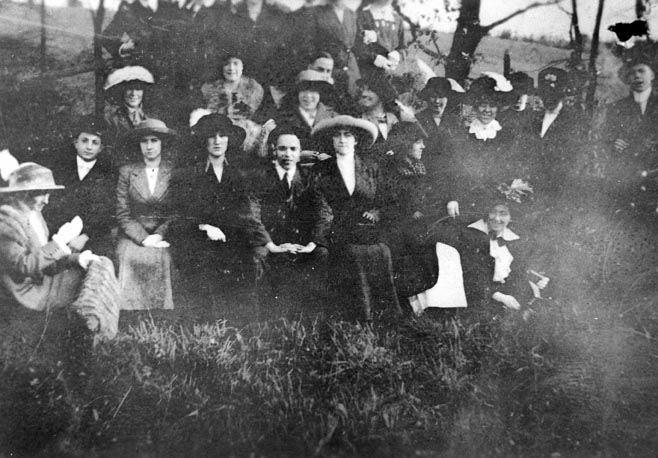 St. James Tennis Club Outing, 1910