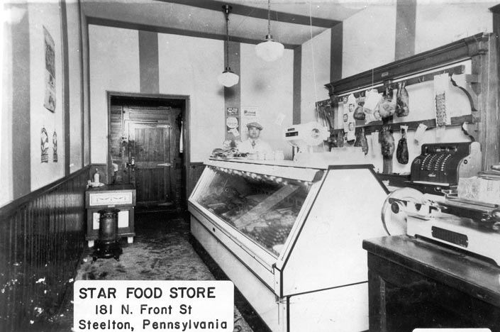 Star Food Store, 181 N. Front Street, 1936