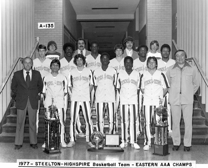 Steel High Eastern Basketball Champs, 1977