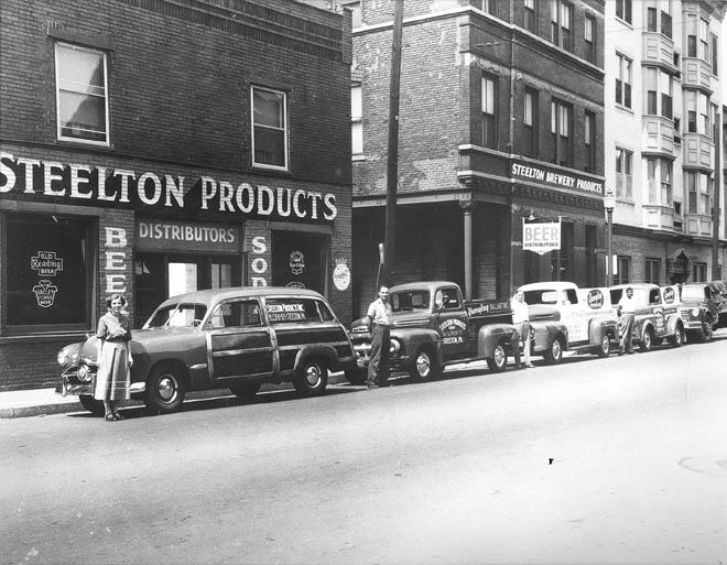 Steelton Products (Beer Distributor) NW Corner, Front and Walnut Streets
