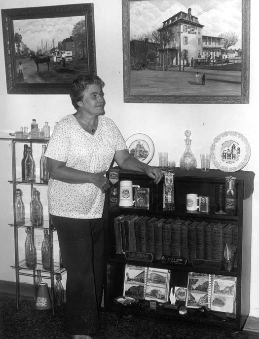 Sue Kerns and Paintings of Lau's Bakery and Bessemer House